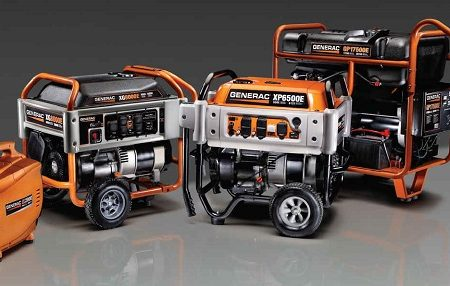 Types of generators available for home use