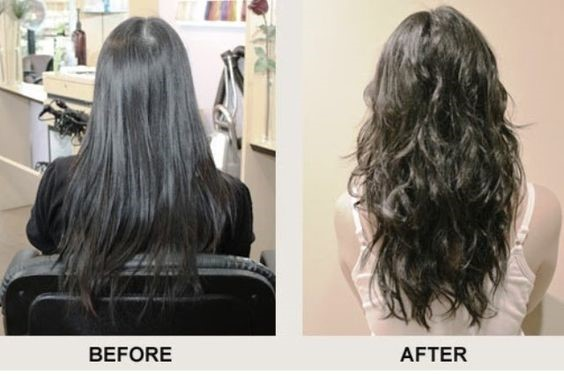 Beach wave perm before and after photos and guide beach wave perm before and after urmus Images