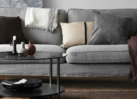 The Perfect Sofa Nests Between Quality & Taste