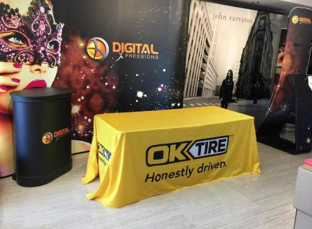 Benefits of Using a Custom Printed Tablecloth Cover