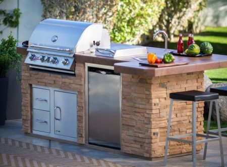 Built-in Barbecues: Efficient and Space Saving Solution