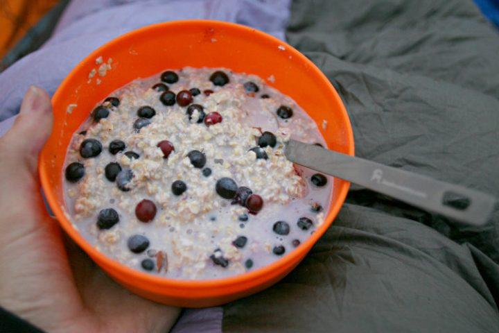 Camping Oatmeal Packs