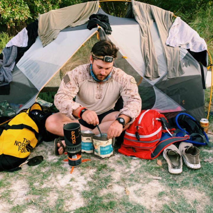 camping smoothie mix