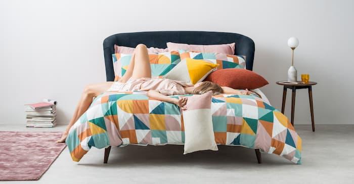 Lulu Velvet bed