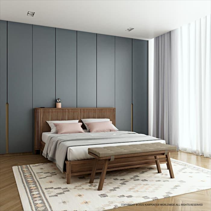 koppar-queen-bed
