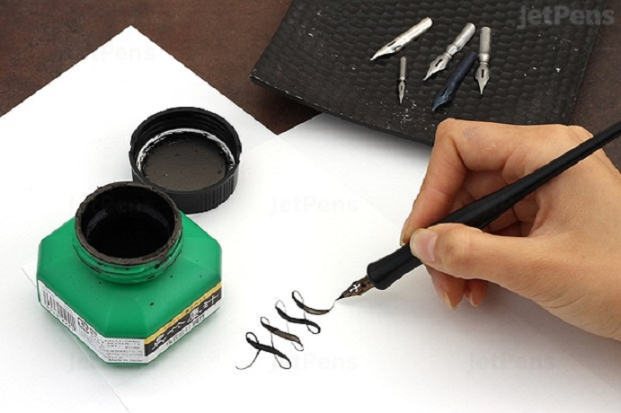 Ink in Calligraphy